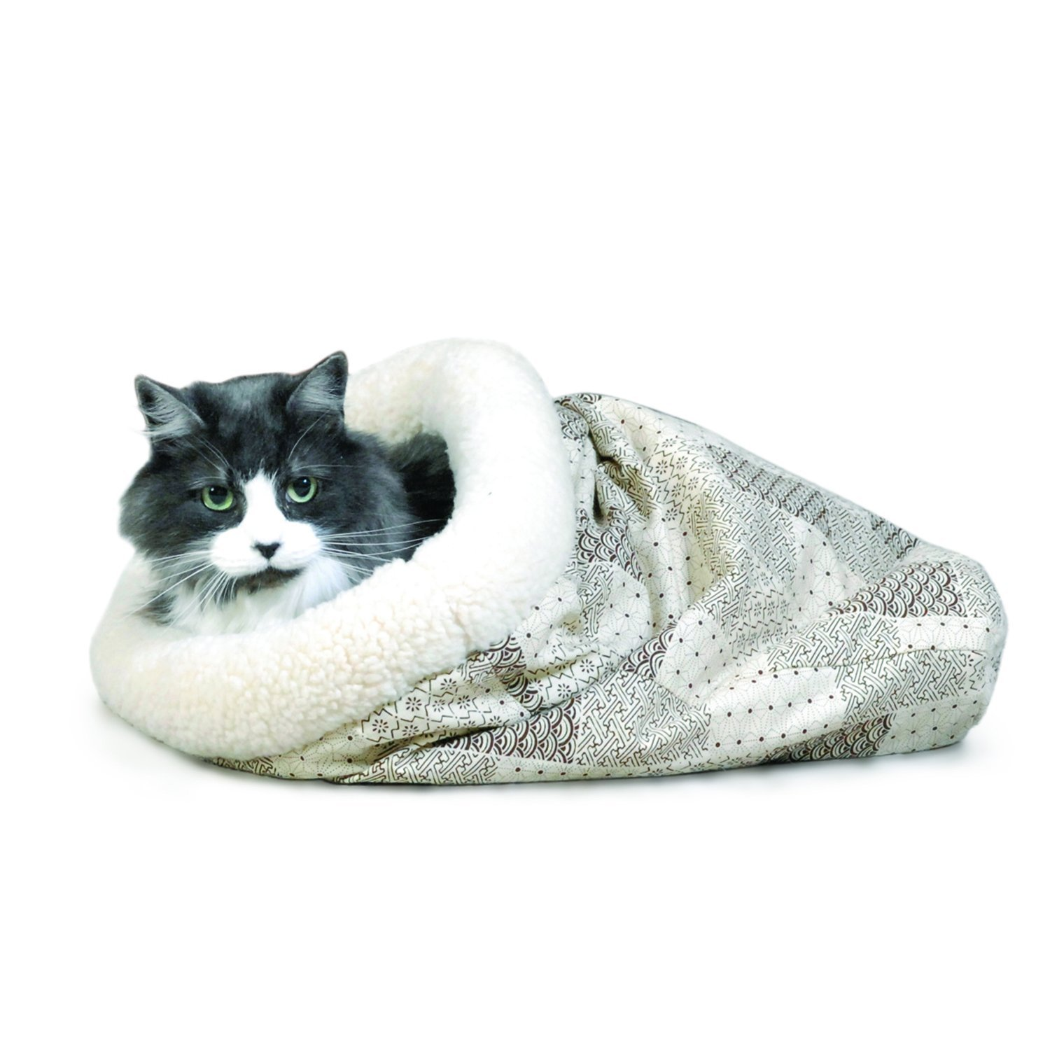 K&H Kitty Crinkle sack cat bed, cat gift idea image